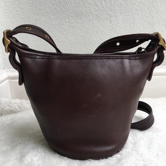 e1c7b12268 Coach Bags | Vintage Legacy Brown Leather Mini Duffle Bag | Poshmark